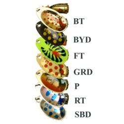 Třpytka rotační - Byron Cyclon 2 - 6 g, SBD