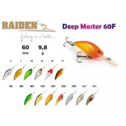 Wobler RAIDEN Deep Master (9,8g, 60 mm, 16)
