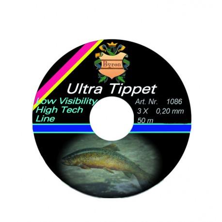 Vlasec Byron Ultra Tippet - 0,15 mm