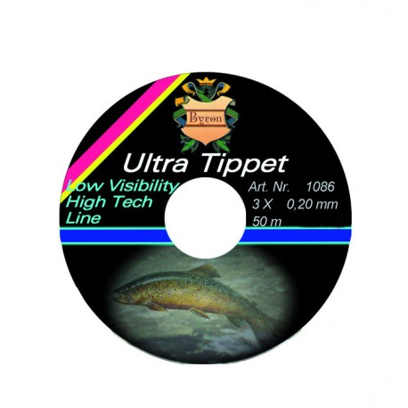 Vlasec Byron Ultra Tippet - 0,24 mm