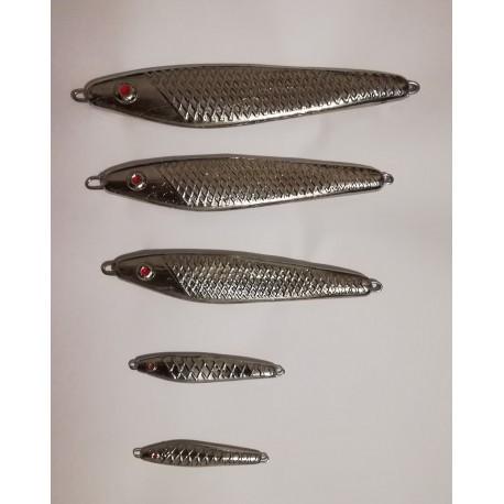 Pilkr ve tvaru ryby - bez trojháčku 15g